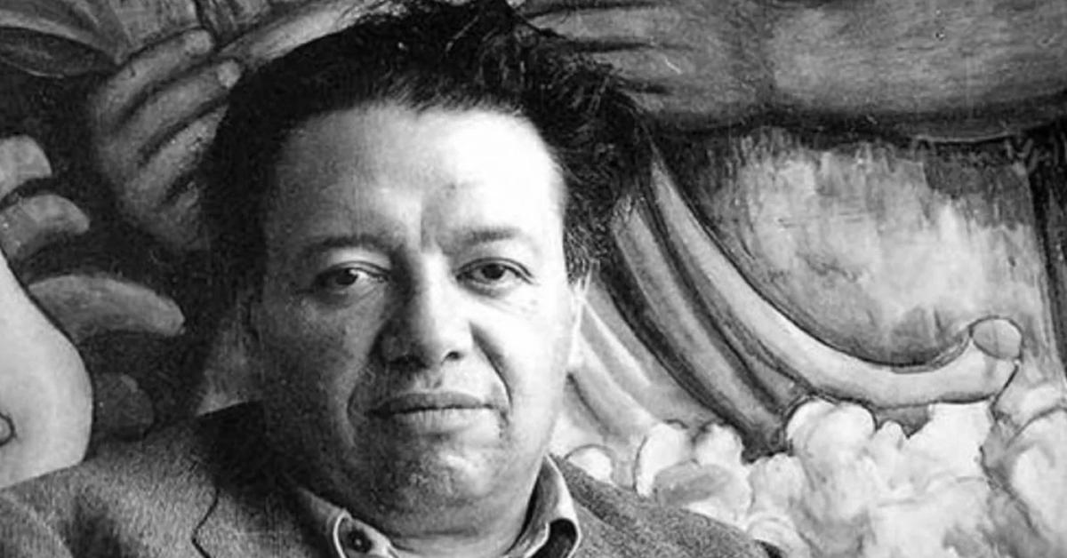 El contestatario Diego Rivera