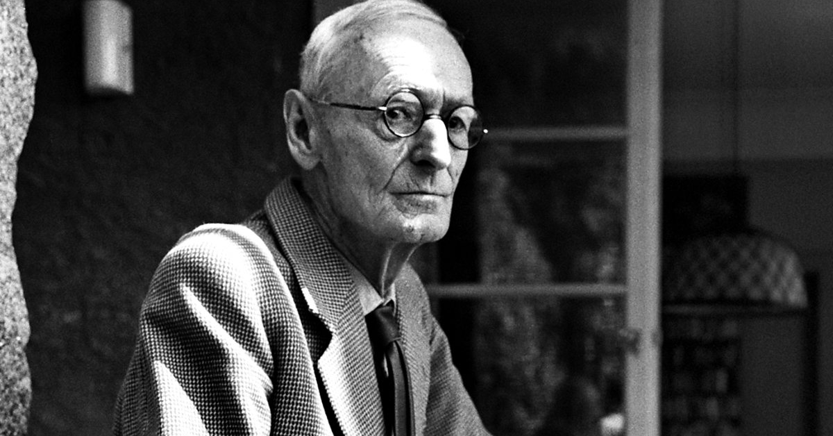 Herman Hesse, uno de los escritores más leídos de la literatura alemana