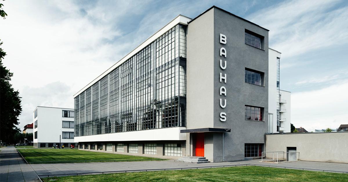 Irrupción de la Bauhaus (a 100 años)