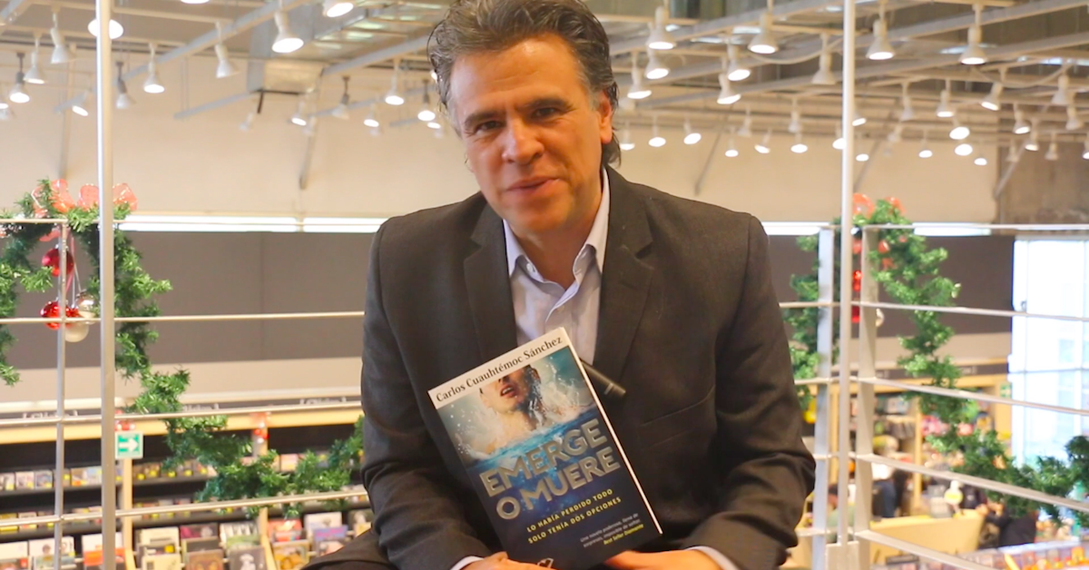 Entrevista con Carlos Cuauhtémoc Sánchez