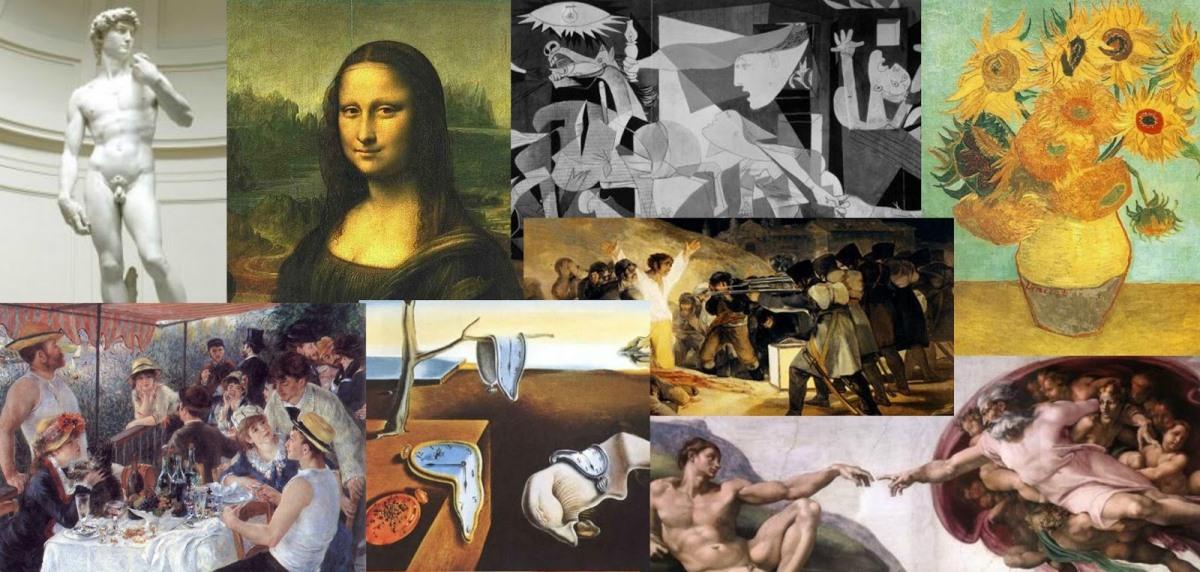 Top ten: novelas inspiradas por el arte