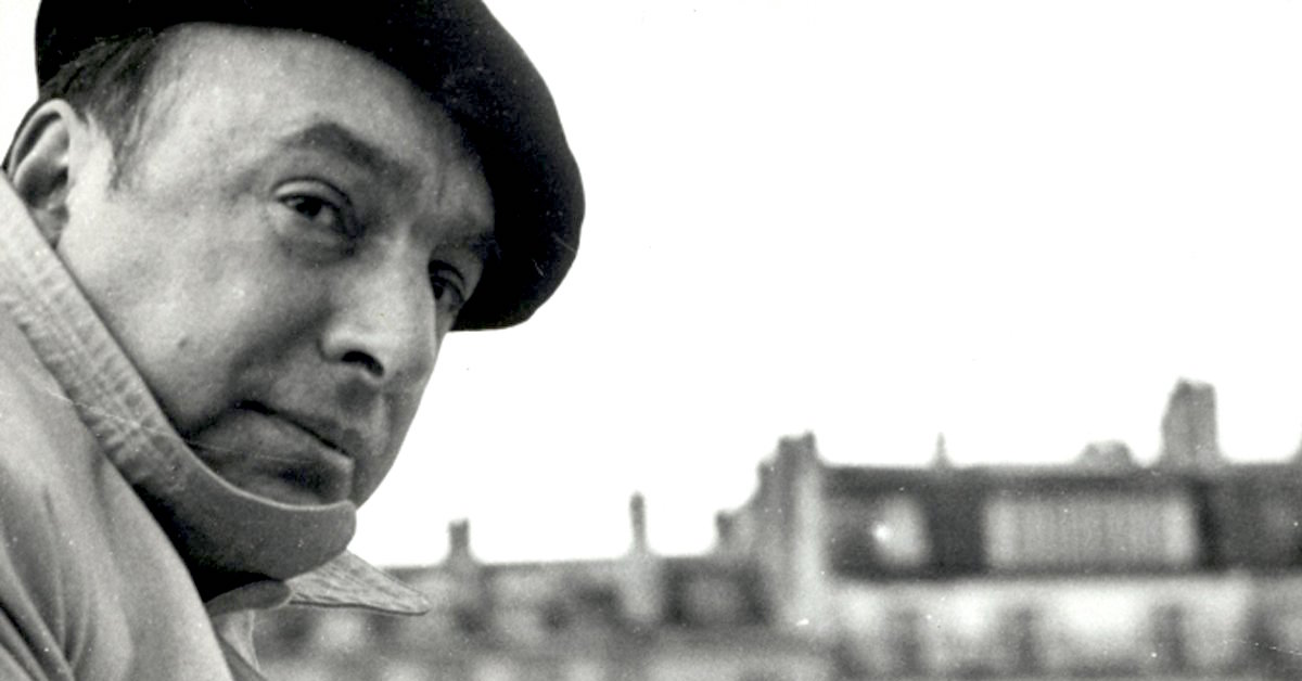 La poesía inmortal de Pablo Neruda