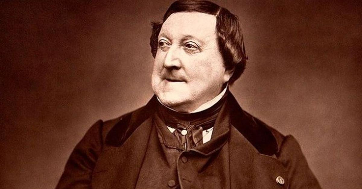 ¿Conocen a Gioachino Rossini?