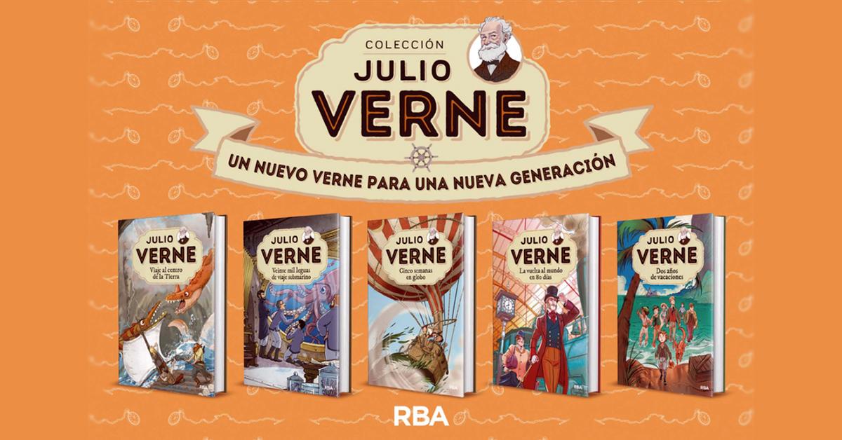 RBA lanza su colección Julio Verne para las nuevas generaciones