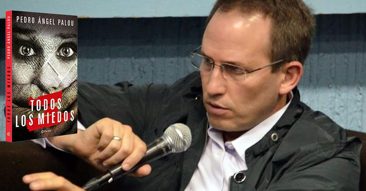"""Una periodista que vive """"Todos los miedos"""", la novela de Pedro Ángel Palou"""