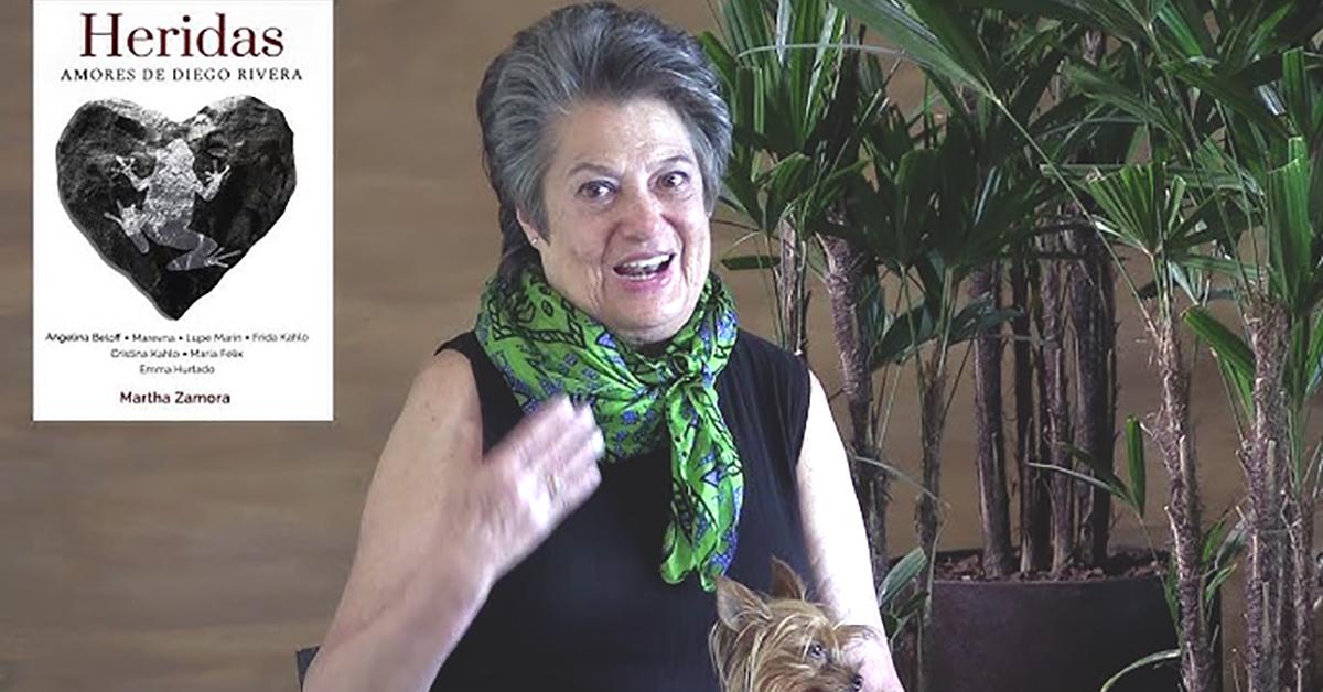 'Diego Rivera no era común ni corriente'. Martha Zamora