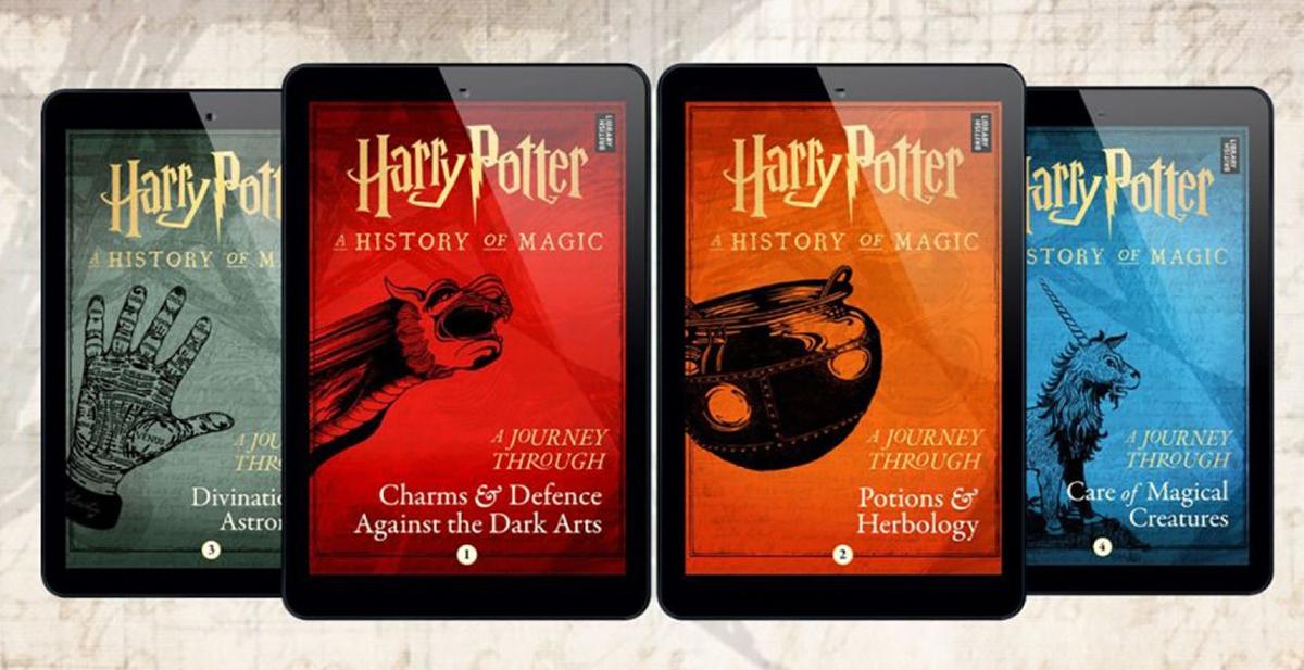 Se aproximan 4 nuevas historias en el mundo mágico de Harry Potter