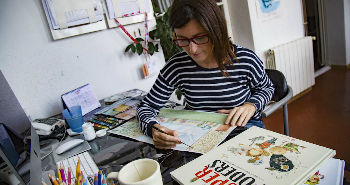 Entrevista con Rocío Bonilla, escritora e ilustradora de libros infantiles