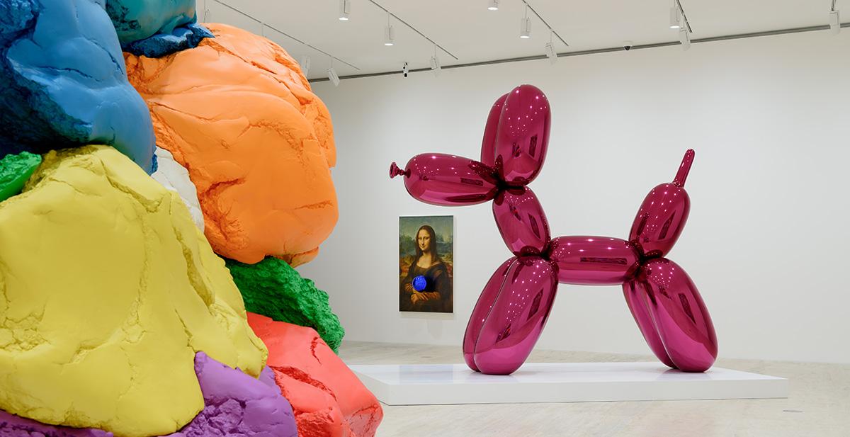"""""""Lo que la obra de Duchamp me enseñó es mantener todo en juego e incorporarlo a un diálogo"""": Jeff Koons en México"""