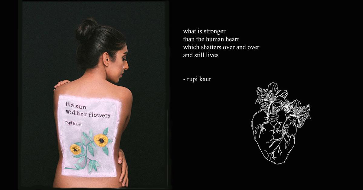 Aceptar lo sombrío de la existencia, la apuesta de Rupi Kaur en 'El sol y sus flores'