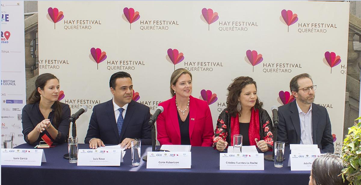 Conoce a detalle la cuarta edición de Hay Festival Querétaro