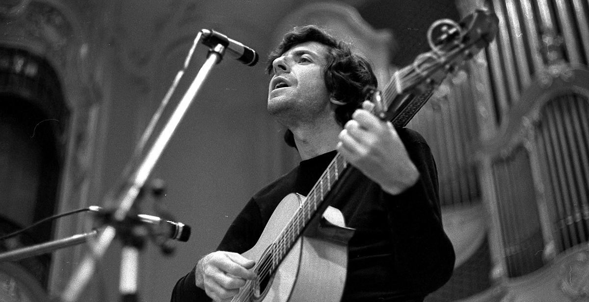 El legado de Leonard Cohen, en 'La llama'