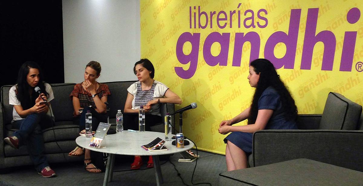 """Karen Villeda presenta """"Agua de Lourdes"""" en el Foro Expresarte"""