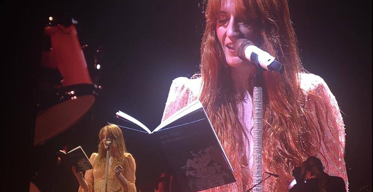 Amor y magia: Florence + The Machine en el Palacio de los Deportes