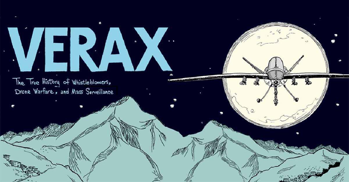 La guerra de drones expuesta en un docu-cómic: Verax (booktrailer)