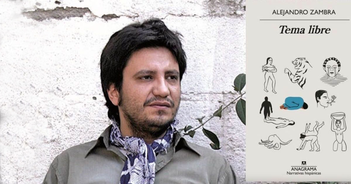 Alejandro Zambra habla de pertenecer en 'Tema libre', su nuevo libro