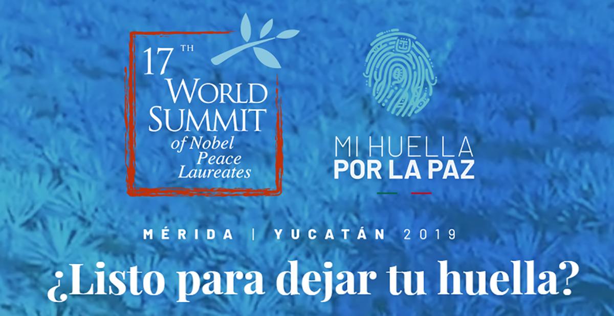 Yucatán, sede de la 17ª Cumbre Mundial de Premios Nobel de la Paz