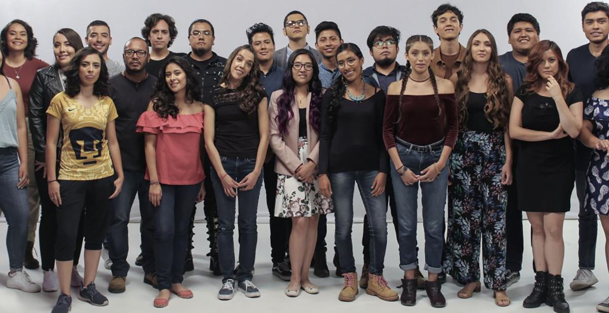 10 estudiantes de la UNAM recorren el país en El perímetro de México,