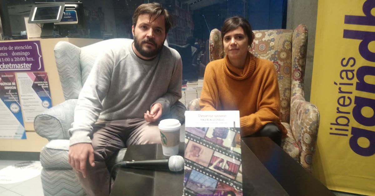 Charla sobre migración: Hablando sobre Desierto Sonoro de Valeria Luiselli