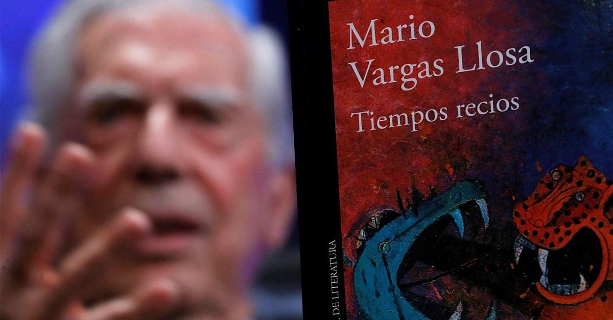 'Tiempos recios', la nueva novela de Mario Vargas Llosa