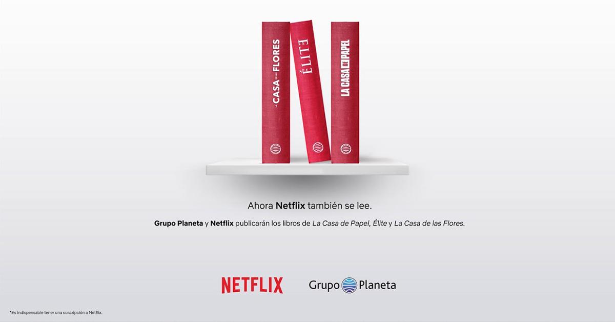 Ahora Netflix también se lee