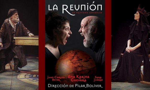 'La Reunión' De Trinidad Gonzalez se presenta en el Foro La Gruta del Centro Cultural Helénico