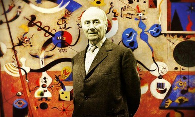 Los perros de Joan Miró