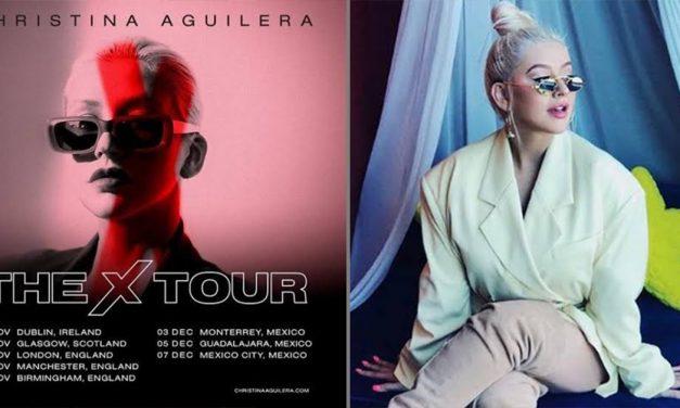 Christina Aguilera se presenta en la Ciudad de México este 7 de diciembre