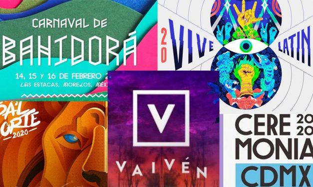 Cinco festivales para iniciar el 2020