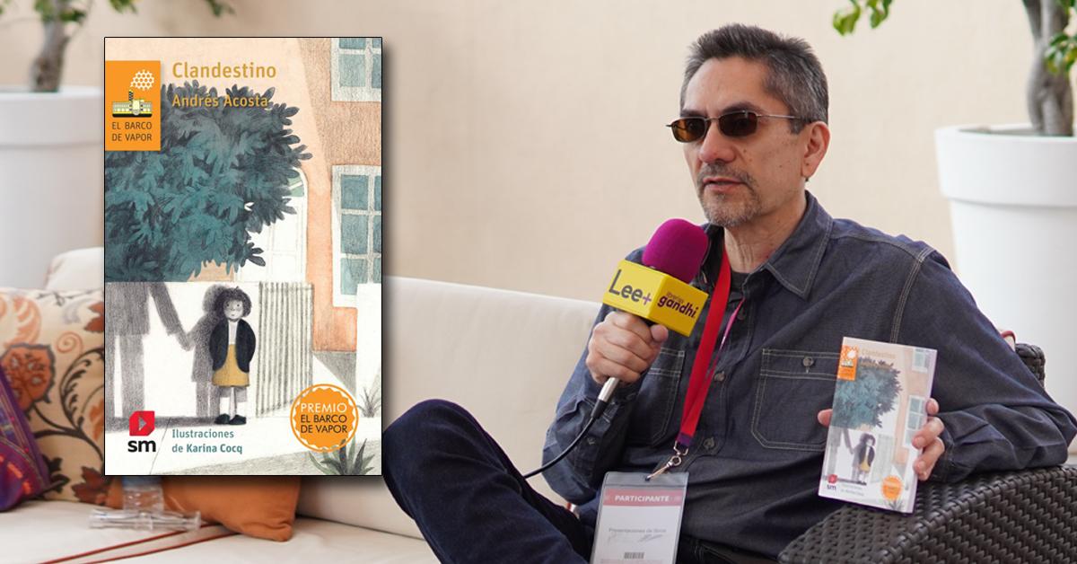 Andrés Acosta nos platica sobre su libro 'Clandestino'