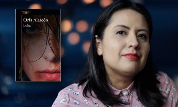 Orfa Alarcón regresa al mundo literario