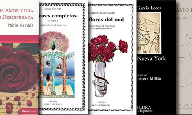 Cinco libros de poesía que hay que leer