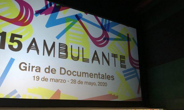 Llega la gira de documentales Ambulante 2020