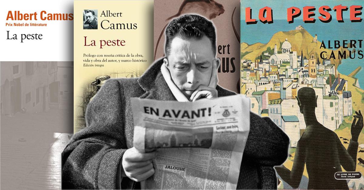 Coronavirus revive el éxito de 'La Peste' de Albert Camus