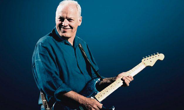 David Gilmour y su dueto insólito