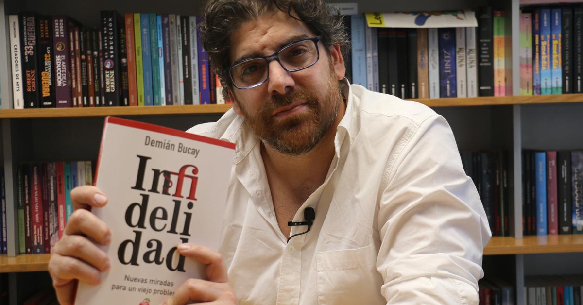 Demián Bucay nos habla sobre su libro 'Infidelidad'