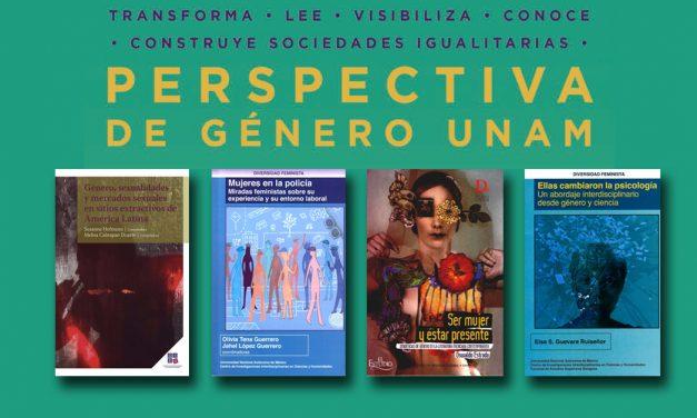 Textos sobre perspectiva de género que ofrece Libros UNAM