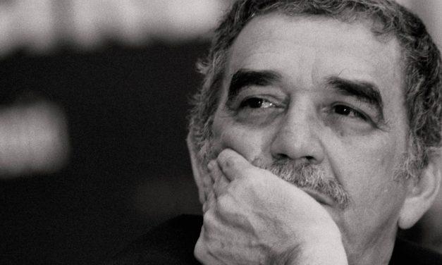 García Márquez y su máquina de escribir