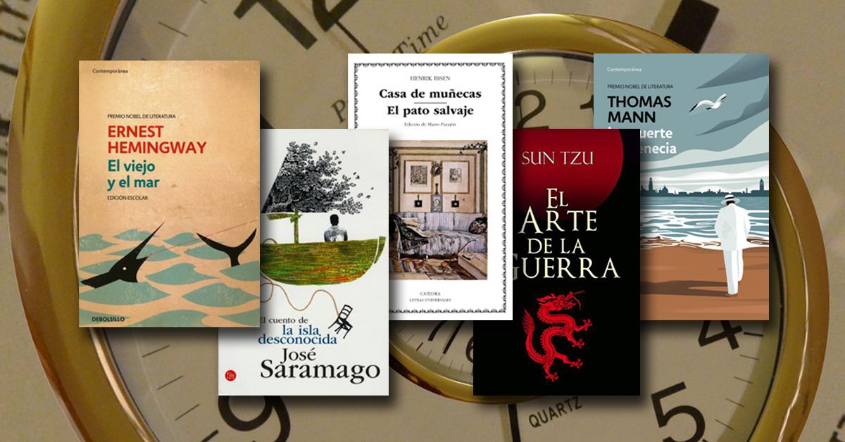 Cinco libros para leer en una hora
