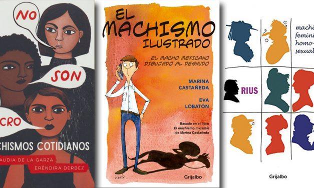 Tres libros para reflexionar el machismo 'con dibujitos'