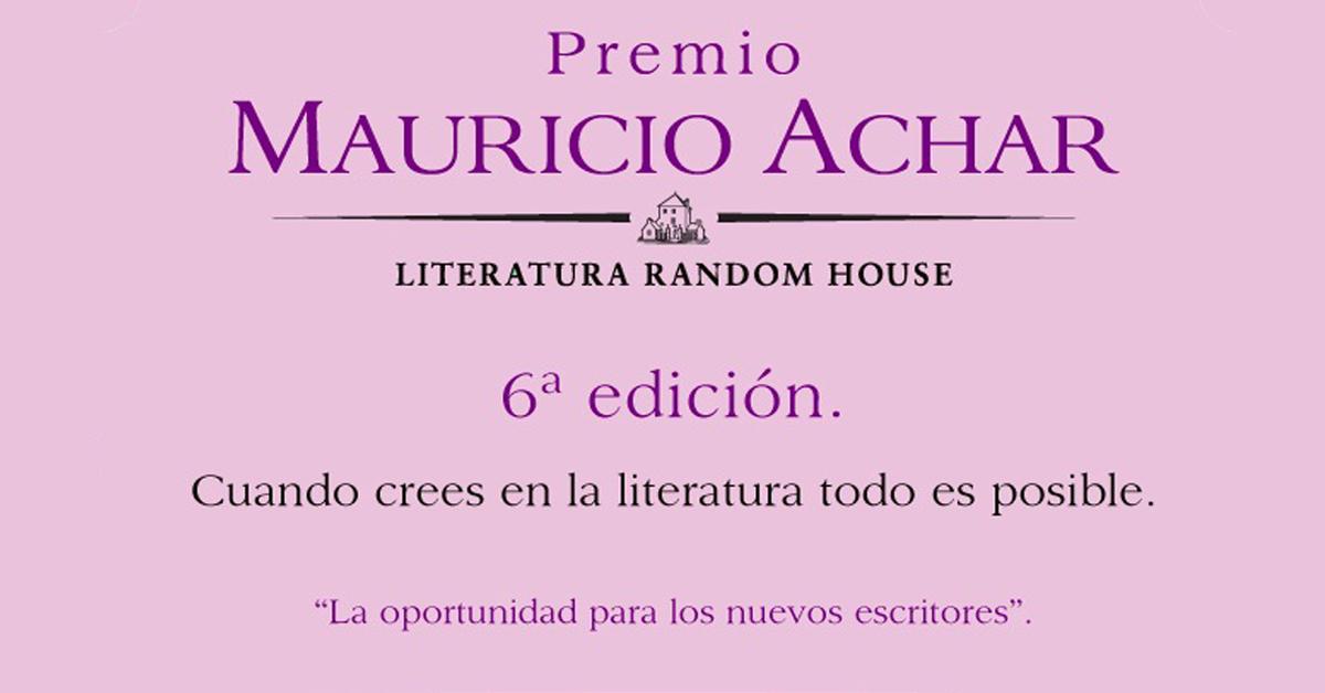 Participa en la sexta edición del 'Premio Mauricio Achar'