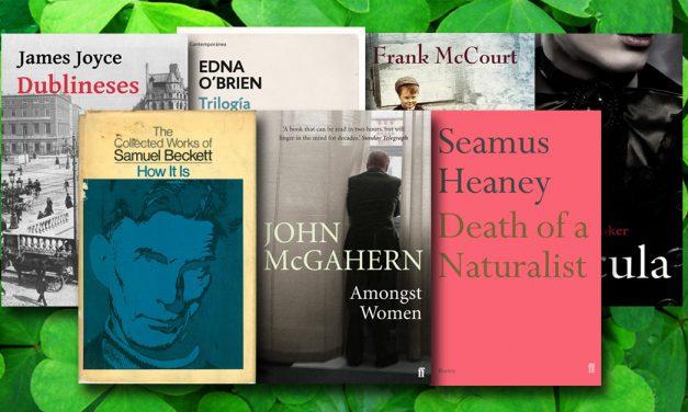 Siete libros con toque irlandés