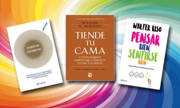 Tres libros para relajarse y liberar el estrés
