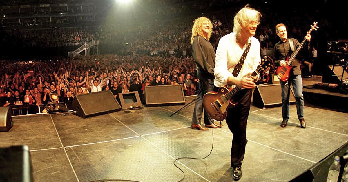 'Celebration Day' la histórica reunión de Led Zeppelin disponible por tres días