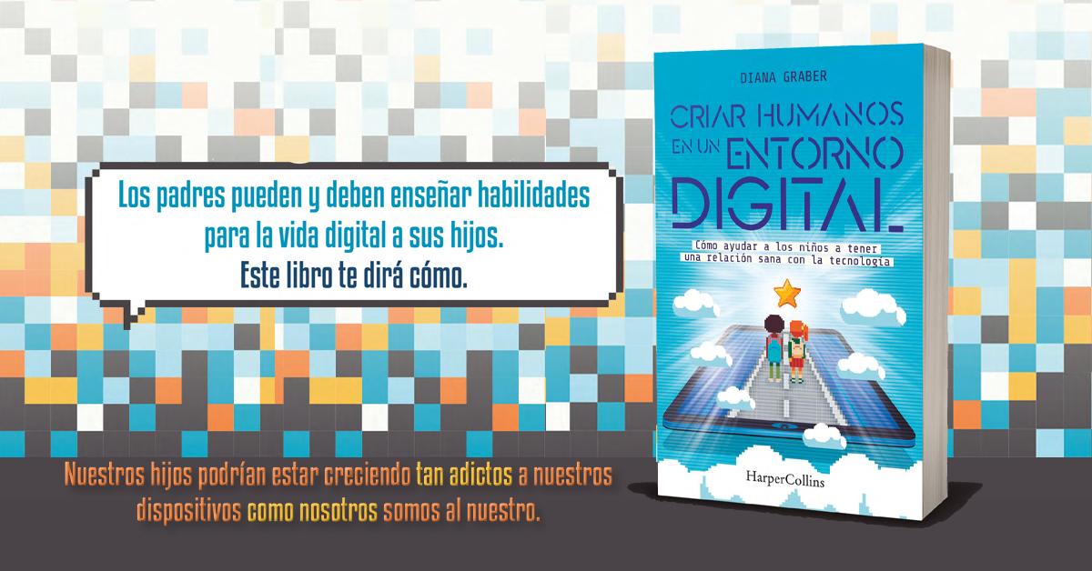 """""""Criar humanos en el entorno digital"""", la sana relación con la tecnología"""