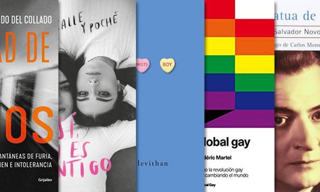 Literatura LGBTTTI para conmemorar la diversidad