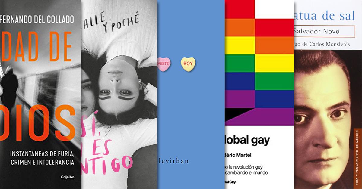 Literatura LGBTTTIQA+ para conmemorar la diversidad