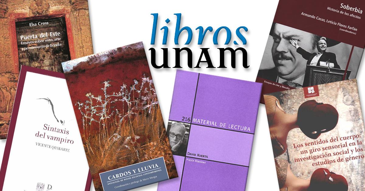 Verano de lecturas con Libros UNAM