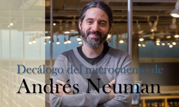 Decálogo del microcuento de Andrés Neuman