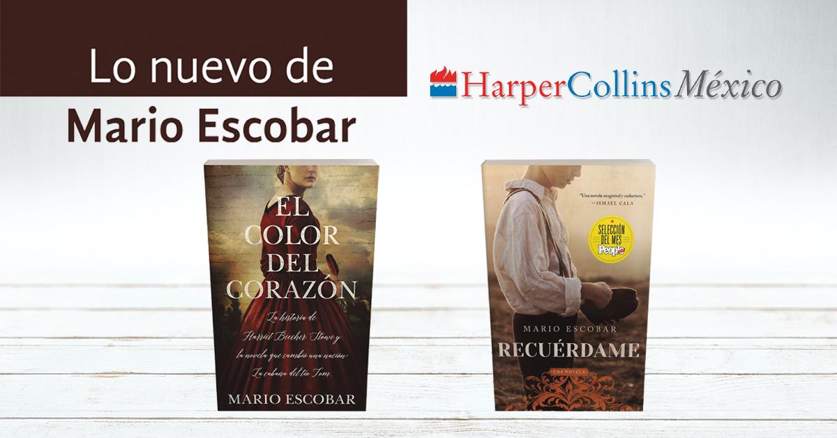 Lo nuevo de Mario Escobar